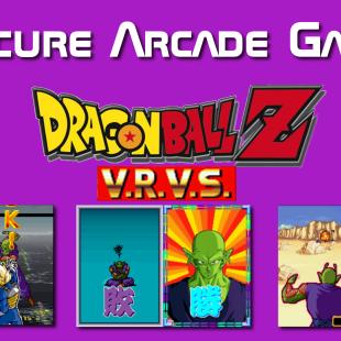 Obscure Arcade Games – Dragonball Z: V.R.V.S