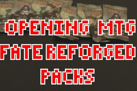 Magic: The Gathering – Fate Reforged released – Opening Booster Packs