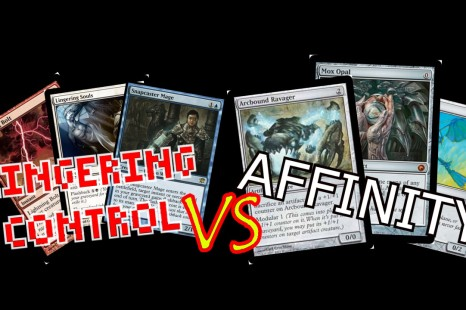 Magic: The Gathering – Modern Gameplay – Linger Control vs. Affinity