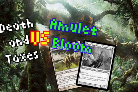 MTG – Modern – Death & Taxes vs Amulet Bloom