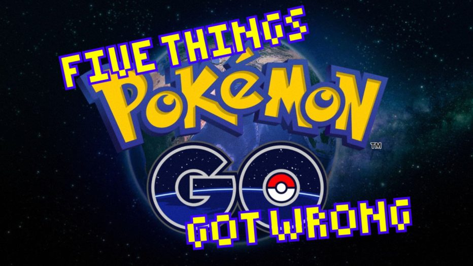 5 Things Pokemon Go Got Wrong