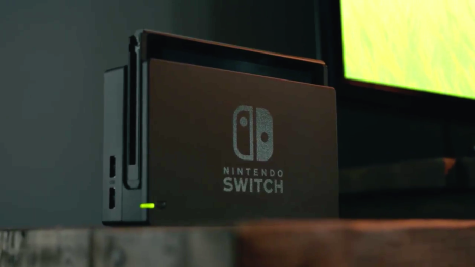 Nintendo unveils it's new console, the Nintendo Switch
