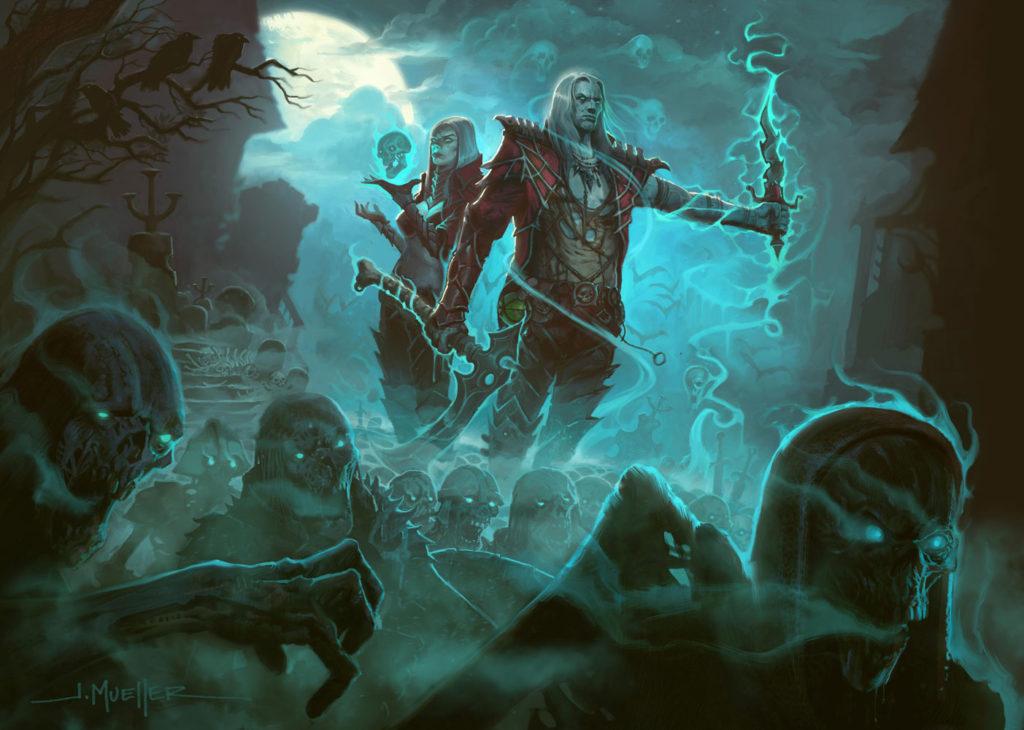 Diablo Leak - Necromancer Concept Art