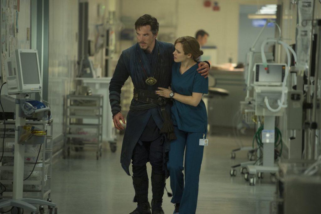 Doctor Strange with Doctor Palmer
