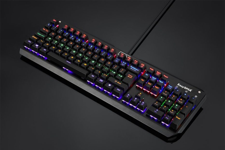 EasySMX Backlit Mechanical Gaming Keyboard Review