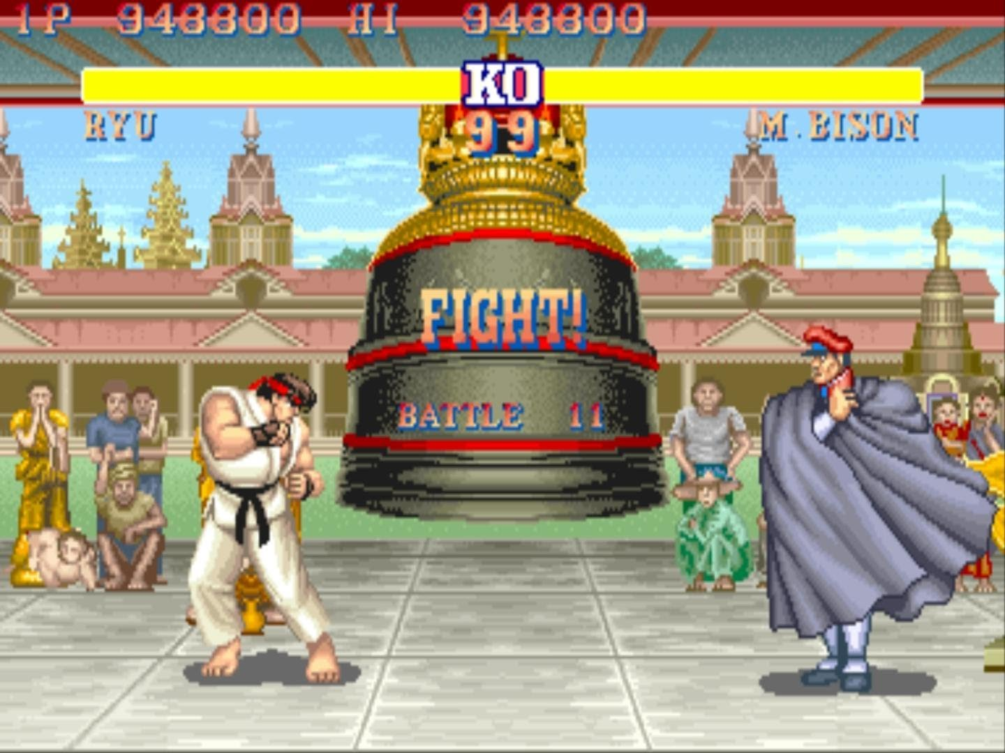 background street fighter 2 ryu stage